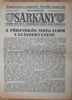 SÁRKÁNY - TÖRZSÖKÖS MAGYAR LAP  1939  RITKA !