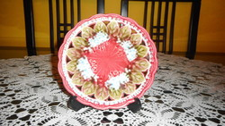 Villeroy & Boch majolika süteményes tányér (01)