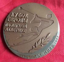 1976-OS Kiev plakett