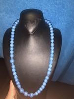 Kék gyöngysor