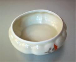 Antik Oscar Schlegelmilch porcelán bonbonier alj