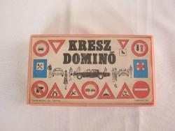 Retró kresz dominó