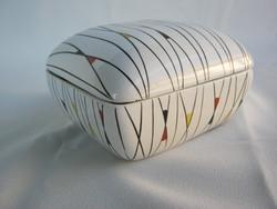 FIM  porcelán retro bonbonier