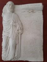Hippocrates- Hippokratész orvosi eskü szövege ógörögül kőtáblán!