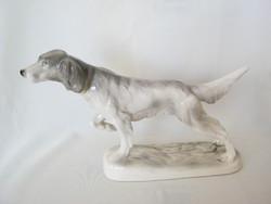 Katzhütte porcelán nagy méretű ír szetter kutya