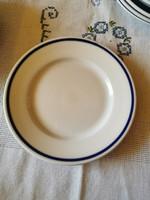 1 db Zsolnay kék csíkos süteményes tányér 19 cm
