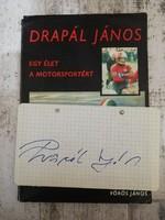 Drapál János könyv+aláírás
