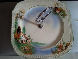 Angol   Kelling&co   festett asztali kínáló