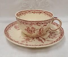 Sarreguemines  Fontanges csésze szett