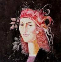 Szász Endre stílusban festett  - NAGY