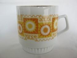 Zsolnay porcelán napocskás bögre