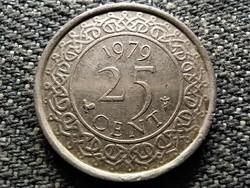 Suriname I. Julianna (1948-1975) 25 cent 1979 (id36615)