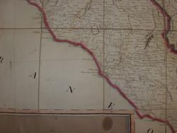 Italia térkép STOTZMANN  Berlin 1804 évből, 4 db-os