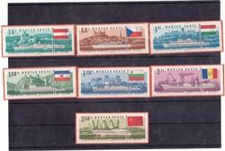 Magyarország emlékbélyegek teljes-sor 1967
