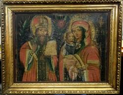 Szent család -18.századi festmény