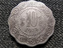 India 10 Paisa 1972 ♦ (id36886)
