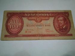 100 FORINTOS PAPIRPÉNZ 1949 OKTOBER 24.