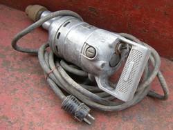 Eslő pisztolyfúró fúrógép elektromos szerszám Még 110 V -os ! Szép ép a tokmány is