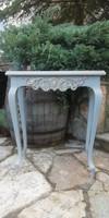 Provence , vintage neobarokk konzol asztal