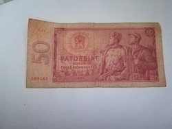1964-es 50 Korona Cshszlovák