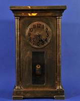 Jugendstil kandalló óra, 1900 k.