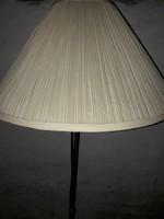Állólámpa, textil ernyővel, retró
