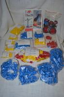 Plasticant ( Java ) retro építőjáték vegyesen  ( DBZ 0093 )