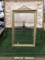 Antik réz asztali fotó keret / fénykép keret / képkeret