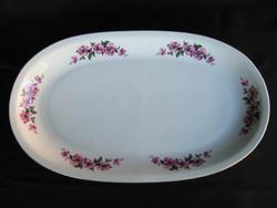 Alföldi porcelán virágmintás ovális kínáló tál 37 cm