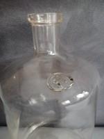 Régi fújt üveg pecséttel 5l