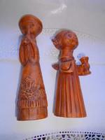 2 db  Kovács Margit stíl kerámia szobor 4700/db  - az ár a 2 db-ra vonatkozik