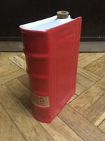 1950-es évekbeli könyv alakú Unicumos üveg