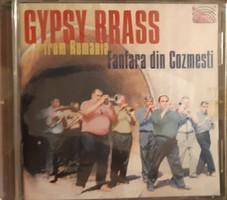 GYPSY BRASS FROM ROMANIA   -  FANFARA DIN COZMESTI   CD