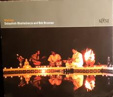 DEBASHISH BHATTACHARYA  AND  BOB BROZMAN - GITÁR   CD