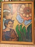Festmény Balázs János jelzéssel