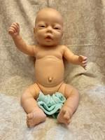 Élethű újszülött kislány baba 46 cm