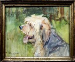 Osztrák festő: Kutyaporté