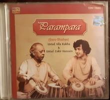 ZAKIR HUSSAIN  &  ALLA RAKHA  - TABLA  : PARAMPARA   CD