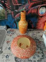 Tófej vázák 32-29cm
