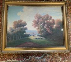 Olaj-vászon festmény
