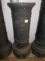 Antik öntöttvas kályha VII.