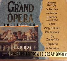 10 db-os CD /operai/