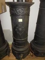 Antik öntöttvas kályha V.