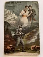 Régi képeslap 1915 katona fotó I. vh. levelezőlap