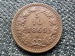 Ausztria Ferenc József 5/10 Krajcár 1865 B (id39215)
