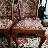 Neobarokk jellegű, teljes körűen felújított stil székek
