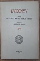 IMIT ÉVKÖNYV  -  ZSIDÓ ÉVKÖNY  1948   - JUDAIKA