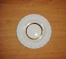Alföldi porcelán arany csíkos hamutál hamutartó (n)