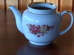 Szép rózsás tea kiöntő