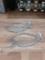 #72, Vintage üveg hal tálak